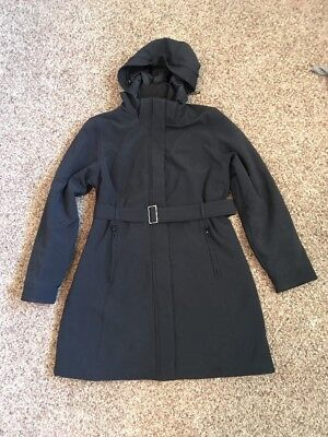 The North Face Women's Black Coat Size Large Heavy Winter Warm