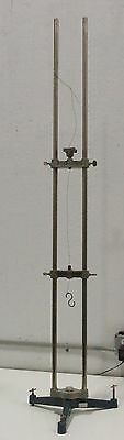 """Cenco Tabletop Support Rod Lab Stand Chemistry Prop 63"""" Tall"""