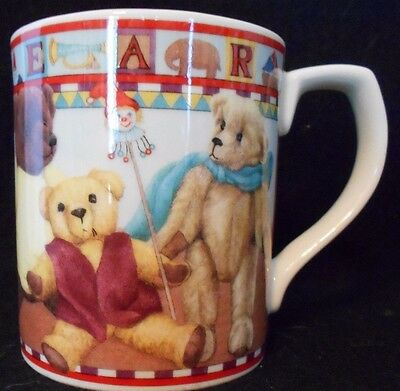 """Royal Doulton Fine China Everyday """"ANTIQUE TOYS"""" 3 Diff Scenes Coffee Cups"""