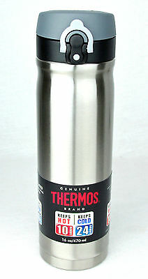 Thermos 16oz Stainless Direct Drink Bottle Tumbler Vac Insulated Dbl Walls BNWT