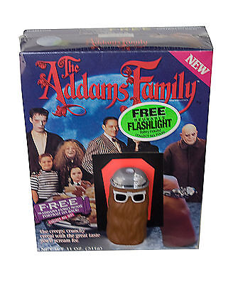 "THE ADAMS FAMILY RALSTON CEREAL.""Cousin It FLASHLIGHT"" SEALED PACKAGE"