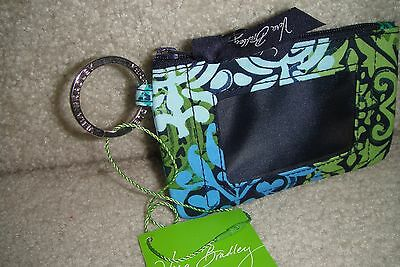 "Vera Bradley  Zip Id Case ""caribbean Sea"" Retired Pattern!  New With Tags!"