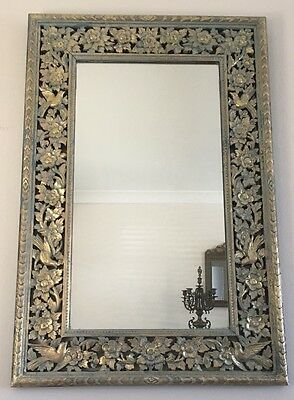French Provincial Ornate  Mirror , size 90x60 cm included Frame