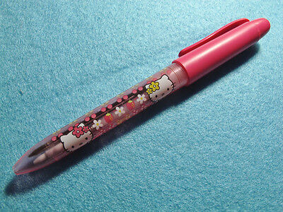 Hello Kitty 2 way pen (pen + mechancial  pencil), made in Japan, 100% new