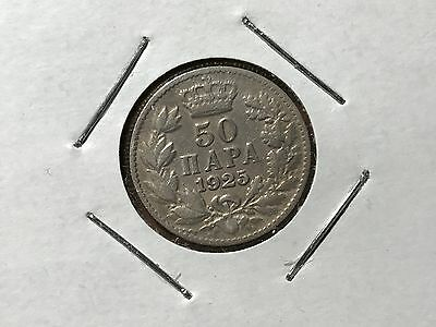 1925 Yugoslavia 50 Para world foreign coin good condition