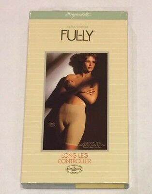 Vtg Exquisite Form Long Leg Controller NIB Girdle Shaper Sz 6X FUL-LY Support