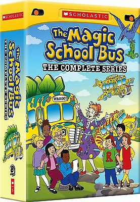 New The MagicSchool Bus: The Complete Series (DVD, 2012, 8-Disc Box Set) Free SH