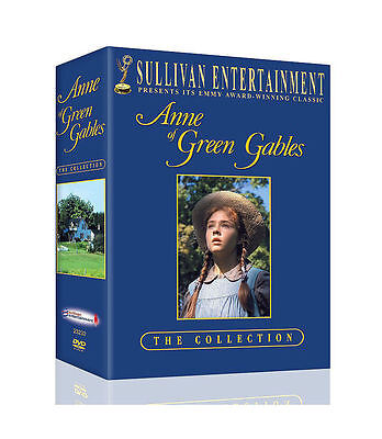 Anne of Green Gables Trilogy Box Set (DVD, 2005, 3-Disc Box Set) New Sealed F&S