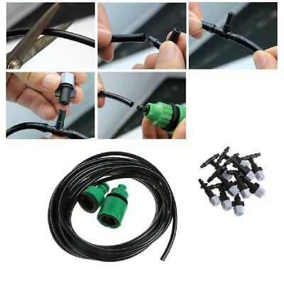 5m Hose Mister Nozzles Garden Plants Irrigation Patio Misting Cooling System