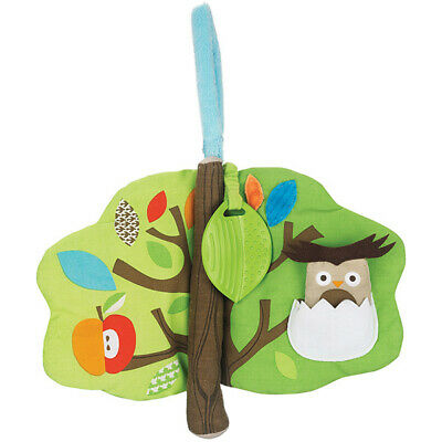 Skip Hop Treetop Friends Collection Soft Activity Book Age 0+