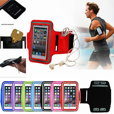 Sports Gym Armband Case Cover Samsung Jogging Cycling Running Arm Pouch Phone