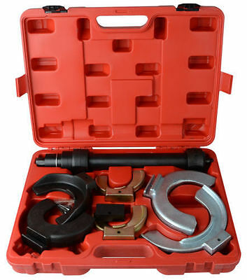 MacPherson Type Strut Coil Spring Compressor Front Rear Interchangeable Jaws Kit