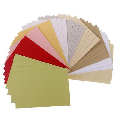50 Sheets Scrapbooking Pearlescent Paper Cardstock Handmade Card for Crafts