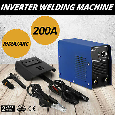 Inverter Welding Machine Electrode Welder MMA ARC pre-alarm 230V/50Hz machinery