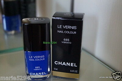 CHANEL COLLECTOR Vernis à Ongles  665 VIBRATO Nail Lacquer +  Boite  SOLD OUT