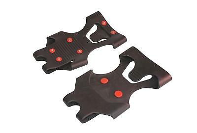 Pack Of 2 LARGE Size Snow SHOE GRIP Strong Rubber Design With Instant Ice Grip