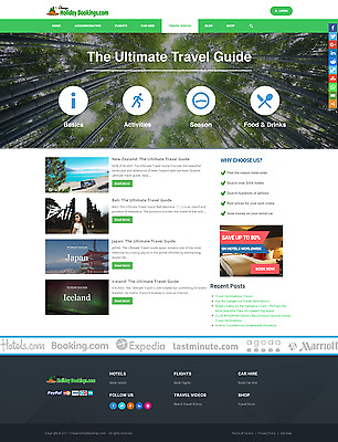 CheapHolidayBookings.com - Latest 2017 Hotels Combined Affiliate Booking Website