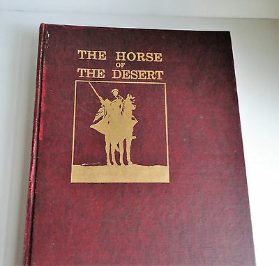 Rare Arabian Horse Reference - The Horse of the Desert William Robinson Brown,