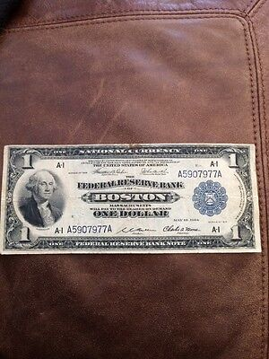 federal reserve note Massachusetts. Price Reduced!!