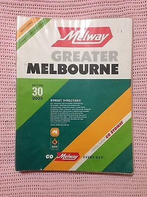 Melway 2003 Gc With Plastic Cover