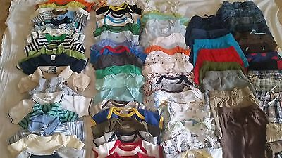 Huge 120 lot Carters+other 3 & 3/6 month baby Boy Lot clothes Outfits summer