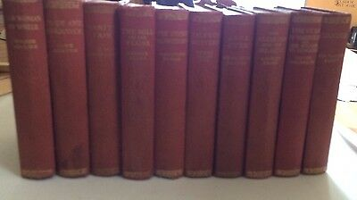 Set Of 10 Daily Express Publication 1933 Books