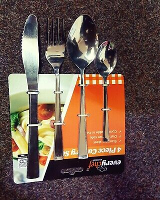 My First Cutlery Set Knife Fork Spoon Stainless Steel Kids Baby Children
