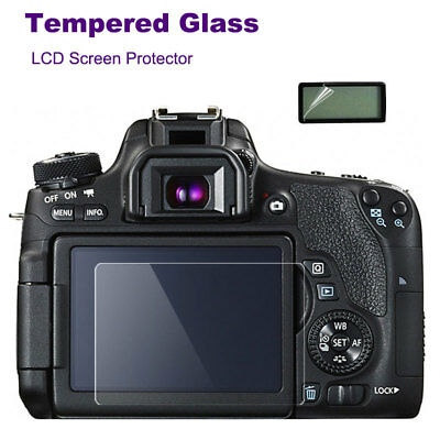 Tempered Glass Camera LCD Screen HD Protector Cover For Canon EOS 7D Mark II 7D2