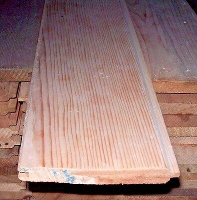WESTERN RED CEDAR TONGUE & GROOVE CLADDING TIMBER 18mm x 137mm x 3.9m (£30 each)