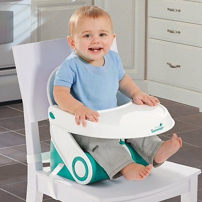 SUMMER INFANT Sit 'n Style Foldable Toddler Booster Seat / Baby Travel - BNIB