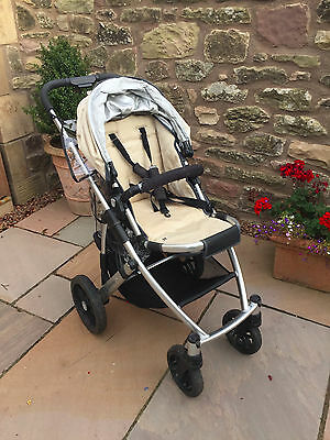 uppababy vista travel system (pushchair, basinette and accessories)