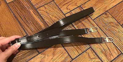 Real Leather Replacement Purse Strap Adjustable