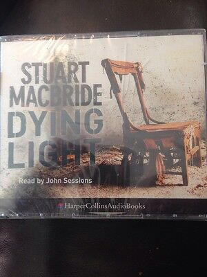 Stuart Macbride Dying Light Audio Book Audiobook Read by John Sessions CD's