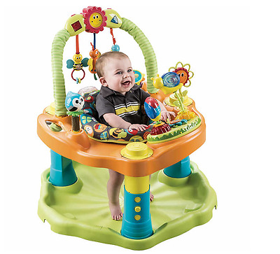 Baby Exersaucer Activity Center, Jumper Baby Bouncer, Evenflo Double Fun Bumbly