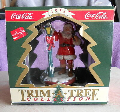 Original Coca Cola / Coke Santa Christmas Ornament in Original Box - #1