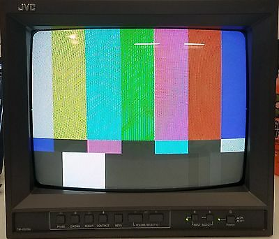 "JVC TM-A130SU 13"" CRT Professional SD Color Video Monitor"