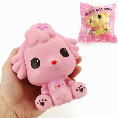 Squishy Puppy Doll Dog 14cm Slow Rising With Packaging Collection Gift Decor Sof