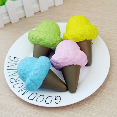 Squishy Ice Cream 9cm Slow Rising With Packaging Collection Gift Soft Squeeze To