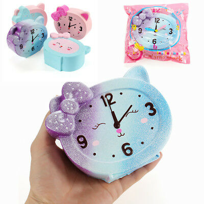 LeiLei Squishy Alarm Clock 10cm Slow Rising Original Packaging Collection Gift D