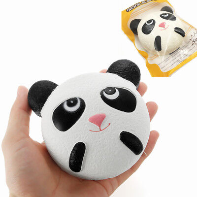 Giggle Bread Squishy Panda 10cm Slow Rising With Packaging Collection Gift Decor
