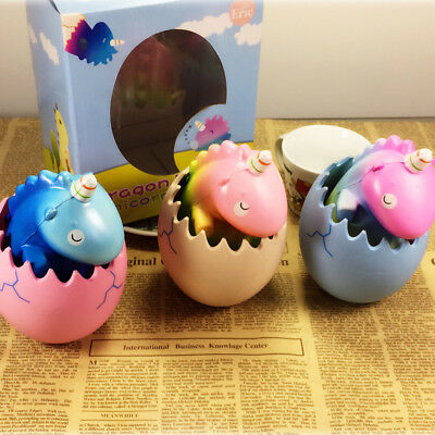 Eric Squishy Unicorn Dragon Pet Dinosaur Egg Slow Rising With Packaging Collecti