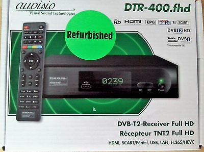 auvisio   DVB-T2-Receiver Full HD  (refurbished)  DTR-400.fhd