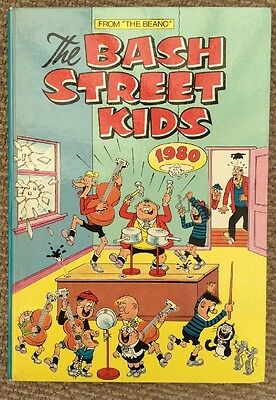 Vintage Bash Street Kids Annual 1980 Great Condition.