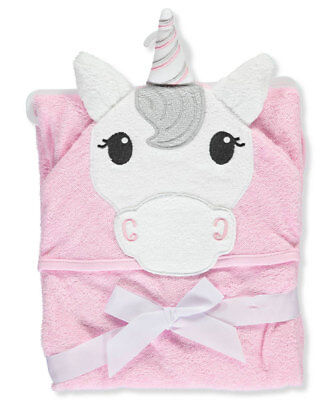 "Hudson Baby ""Sweet Unicorn"" Hooded Towel"