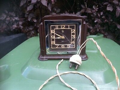 Smiths Bakelite Clock