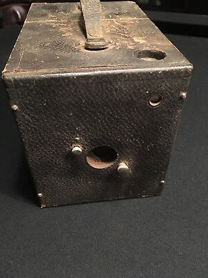 """RARE Antique Box Camera The """"Ray""""  by Mutschler Robertson w 3 Plates"""