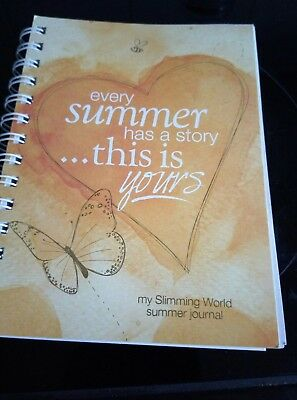 Slimming World Food Diary Journal - new for summer 2017