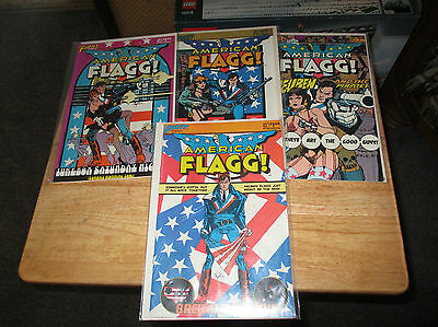 American Flagg. #1 To  #28. Howard Chaykin. First Comics. #1 Signed