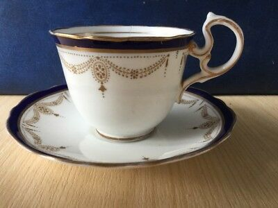 Aynsley Coffee Cup & Saucer Vintage China