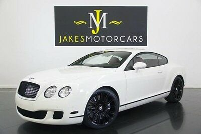 2008 Bentley Continental GT Speed (ONLY 7600 MILES!) 2008 BENTLEY CONTINENTAL GT SPEED~ONLY 7600 MILES! WHITE ON HOTSPUR RED~PRISTINE